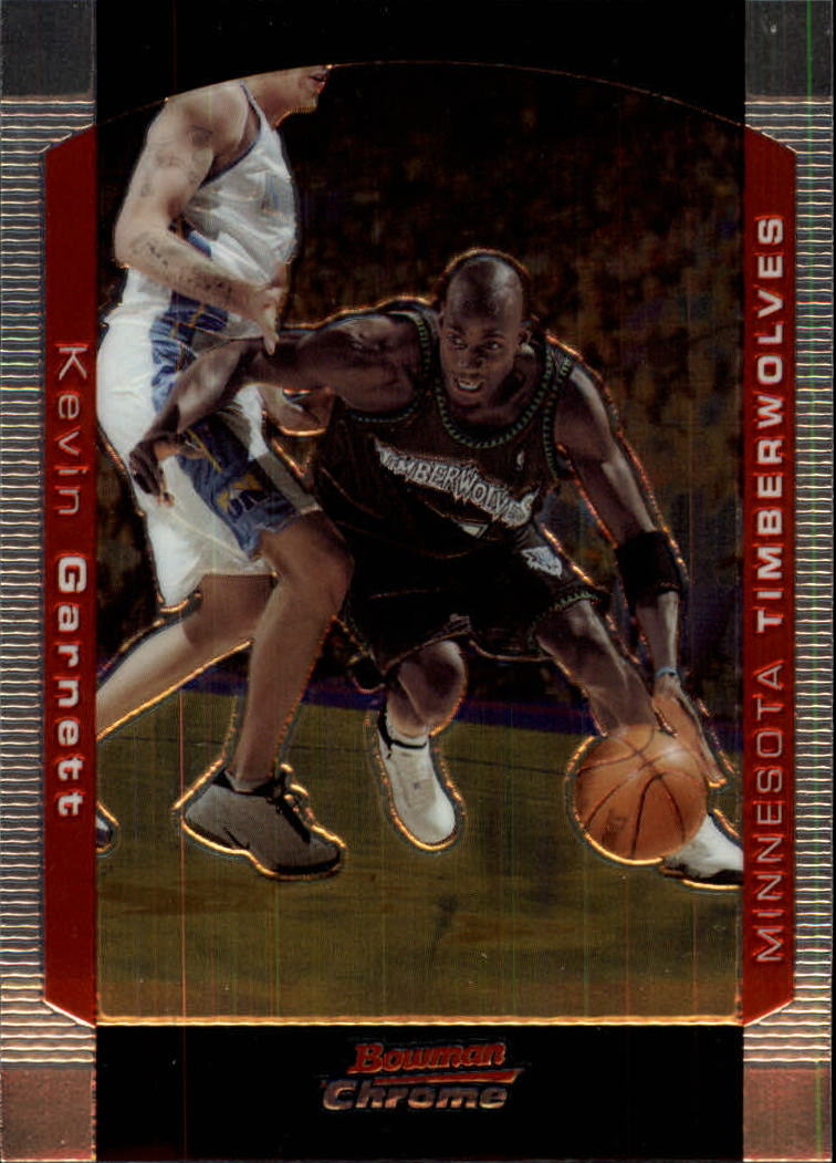 2004-05 Bowman Chrome #21 Kevin Garnett