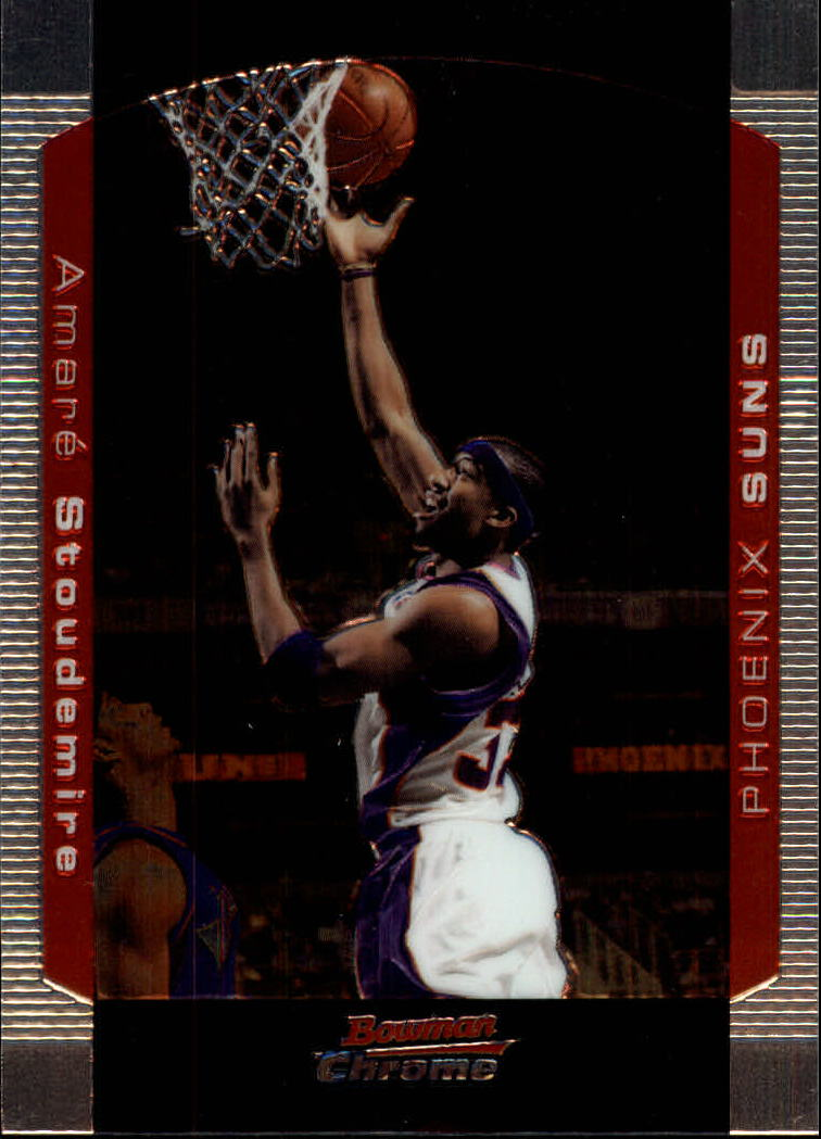 2004-05 Bowman Chrome #32 Amare Stoudemire