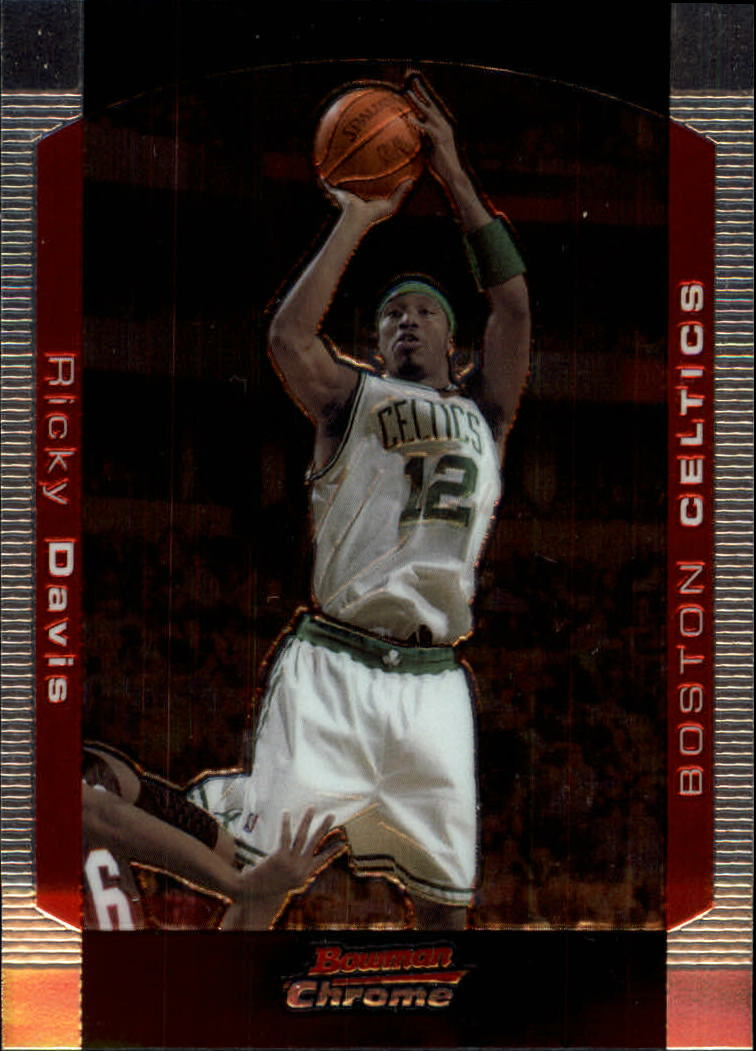 2004-05 Bowman Chrome #48 Ricky Davis