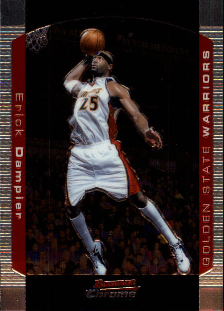 2004-05 Bowman Chrome #63 Erick Dampier