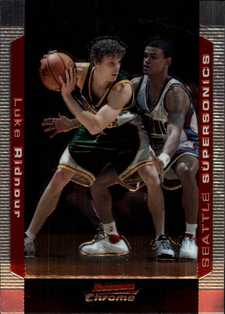 2004-05 Bowman Chrome #78 Luke Ridnour