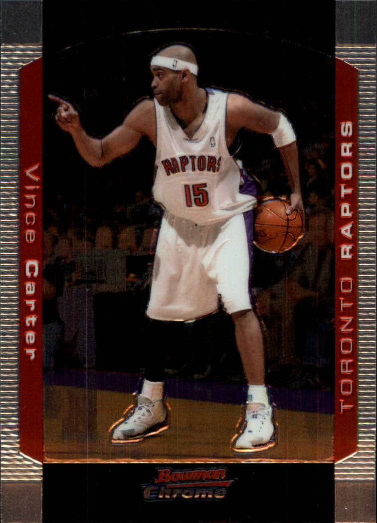 2004-05 Bowman Chrome #80 Vince Carter