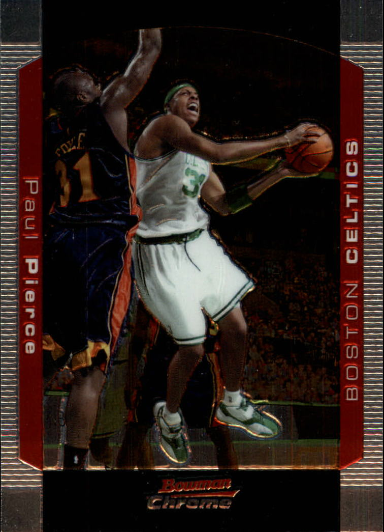 2004-05 Bowman Chrome #104 Paul Pierce