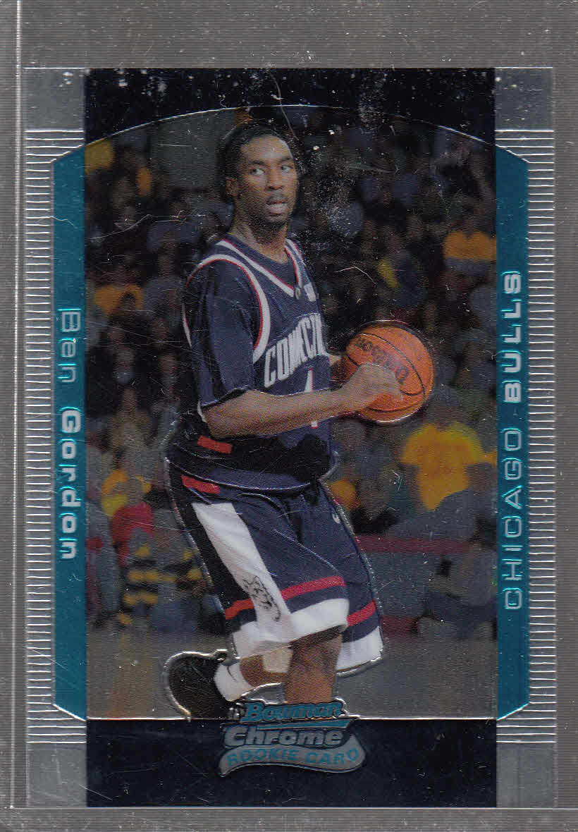 2004-05 Bowman Chrome #113 Ben Gordon RC