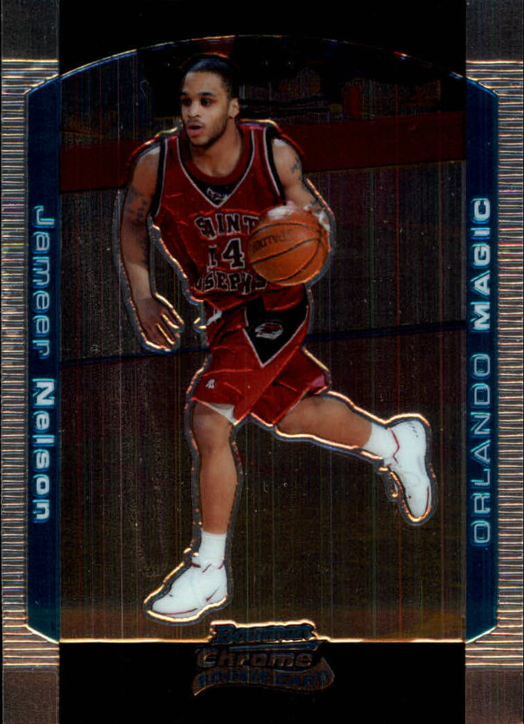 2004-05 Bowman Chrome #124 Jameer Nelson RC