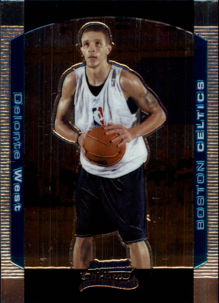 2004-05 Bowman Chrome #128 Delonte West RC