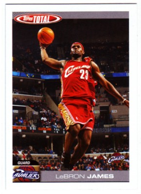 2004-05 Topps Total #4 Lebron James
