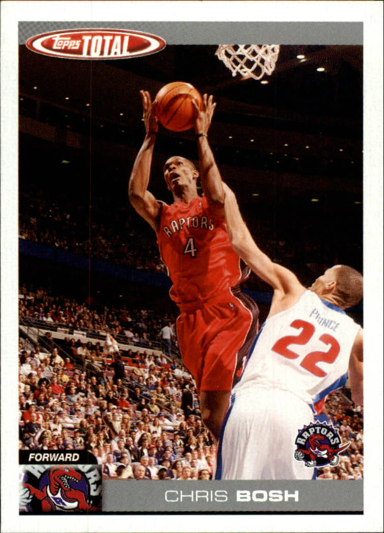2004-05 Topps Total #77 Chris Bosh