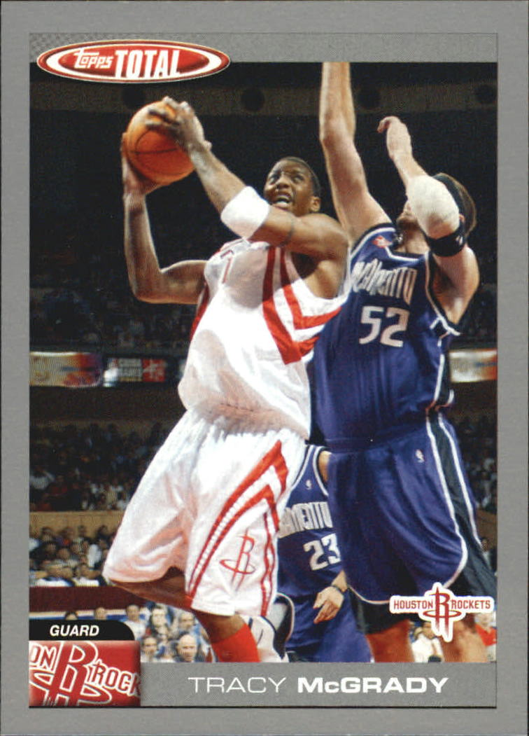 2004-05 Topps Total Silver #86 Tracy McGrady