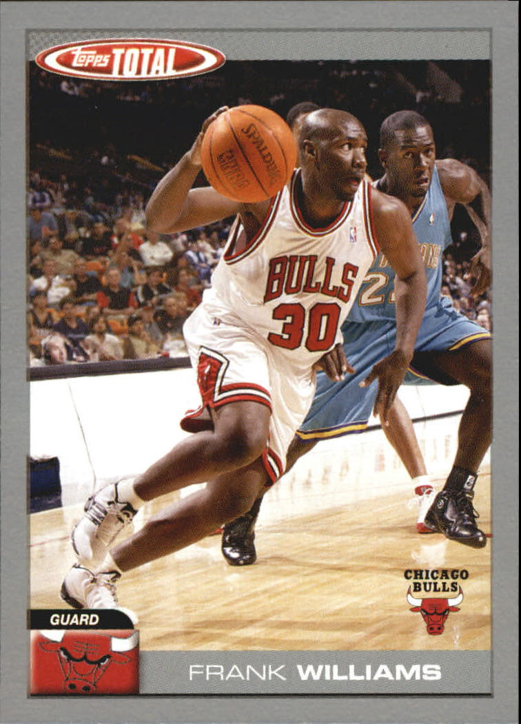 2004-05 Topps Total Parallel #238 Frank Williams