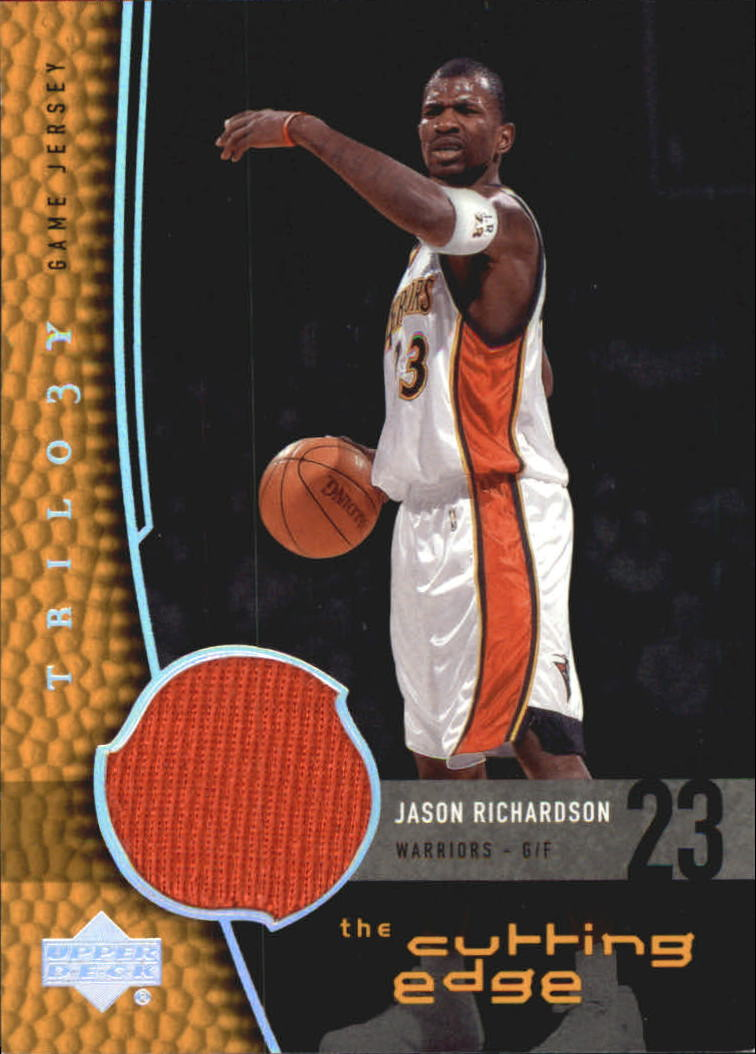 2004-05 Upper Deck Trilogy The Cutting Edge #JA Jason Richardson