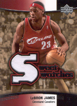 2004-05 Sweet Shot Swatches #LJ LeBron James