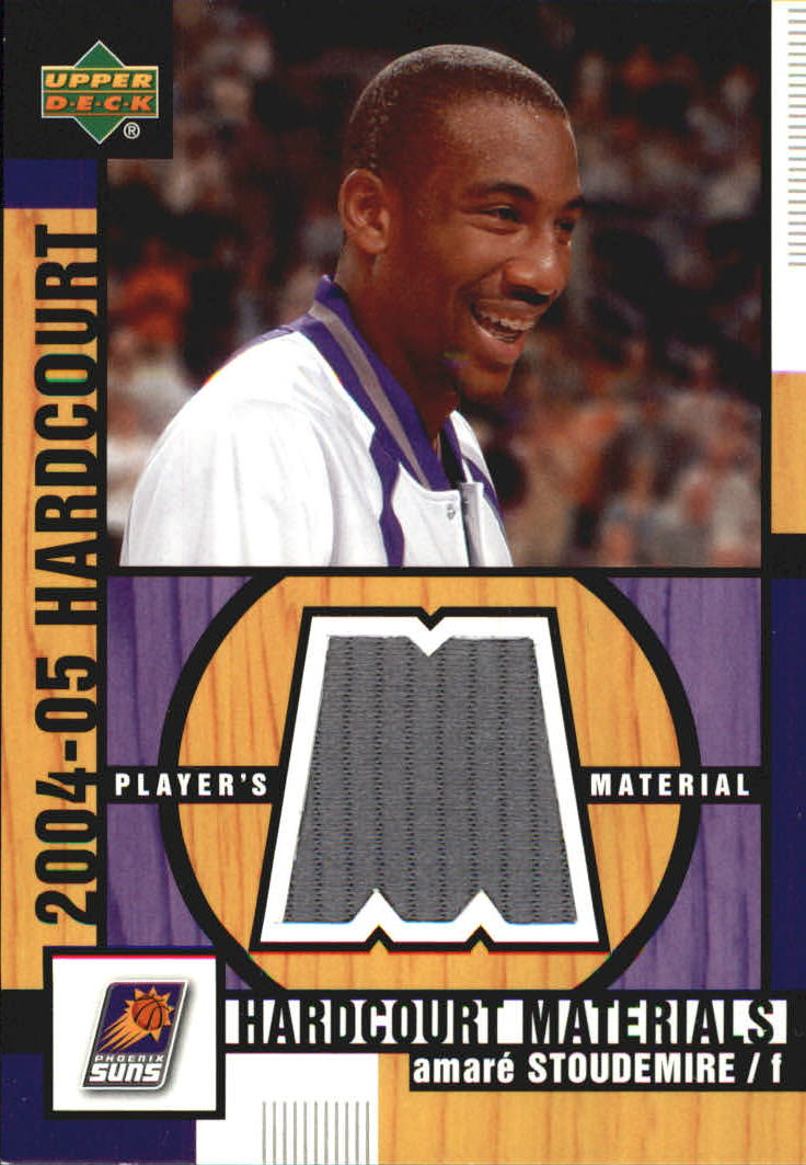 2004-05 Upper Deck Hardcourt Materials #AS Amare Stoudemire