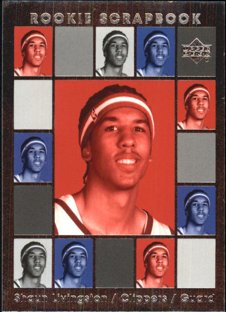 2004-05 Upper Deck Rookie Scrapbook #RS27 Shaun Livingston