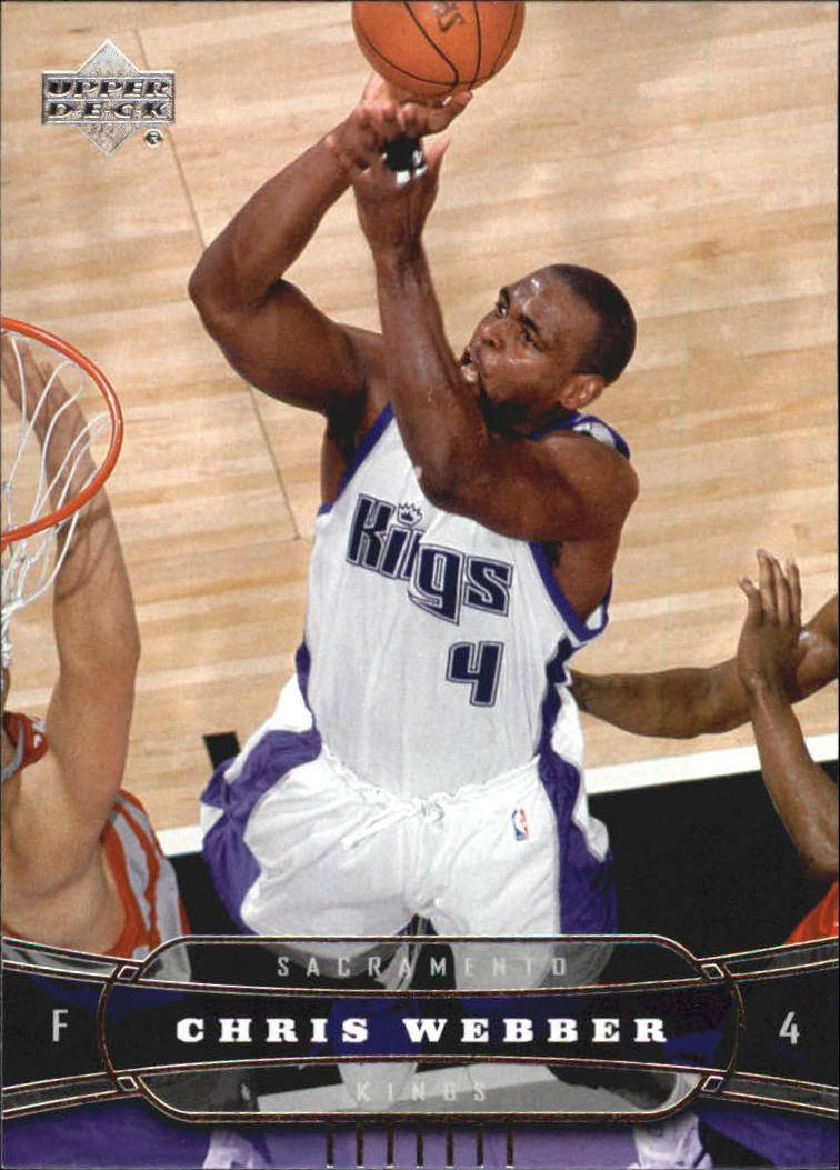 2004-05 Upper Deck #167 Chris Webber