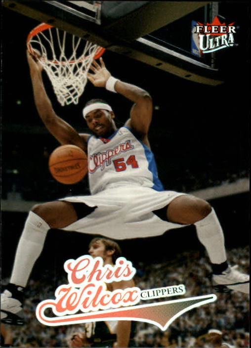 2004-05 Ultra #18 Chris Wilcox