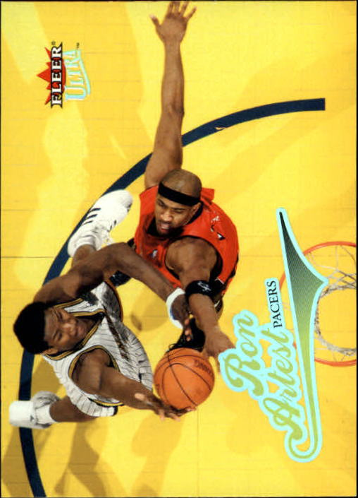 2004-05 Ultra #52 Ron Artest