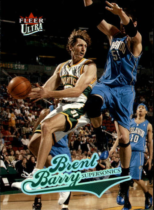 2004-05 Ultra #56 Brent Barry