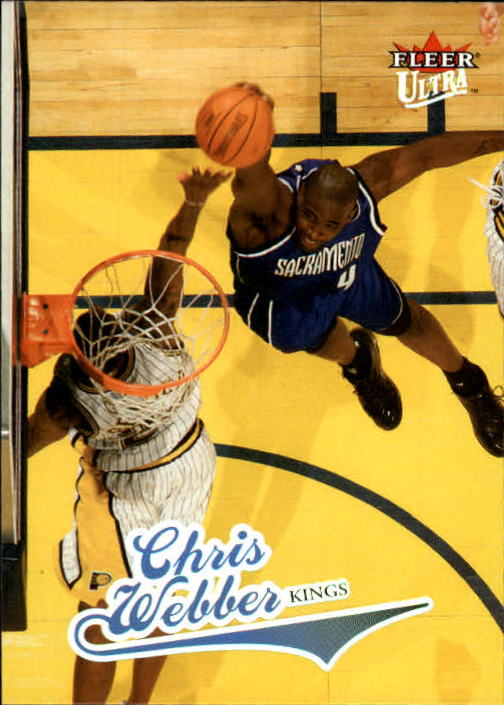 2004-05 Ultra #95 Chris Webber