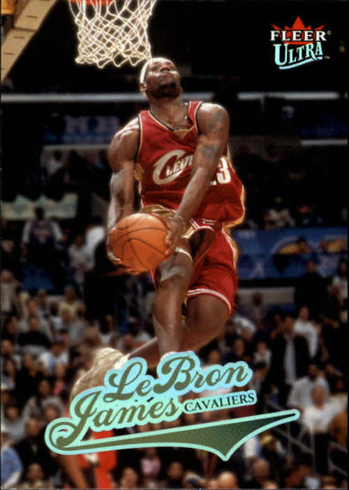 2004-05 Ultra #114 LeBron James