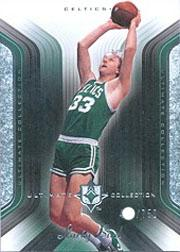2004-05 Ultimate Collection #7 Larry Bird