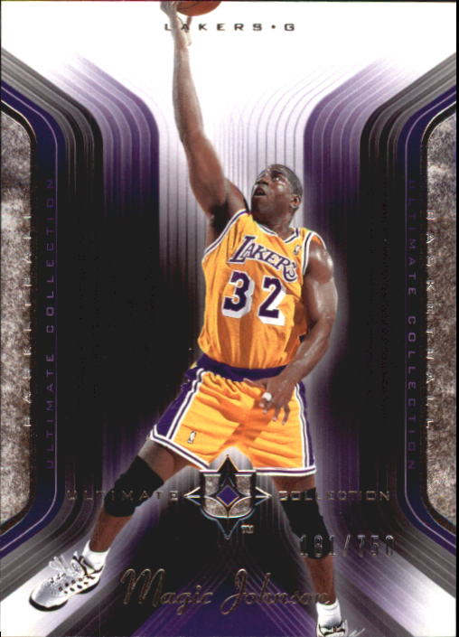 2004-05 Ultimate Collection #46 Magic Johnson front image