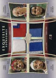 2004-05 Exquisite Collection Foursomes Patches #JDIW LeBron James/Drew Gooden/Zydrunas Ilgauskas/Dajuan Wagner