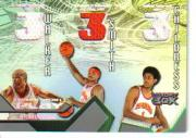 2004-05 Topps Luxury Box Three-Point Play Relics #WSC Antoine Walker/Josh Smith/Josh Childress