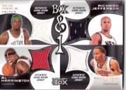 2004-05 Topps Luxury Box and 1 #PJPH Paul Pierce/Richard Jefferson/Tayshaun Prince/Al Harrington