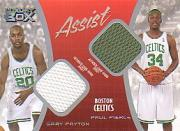 2004-05 Topps Luxury Box Assist Dual Relics #ASPP Gary Payton/Paul Pierce