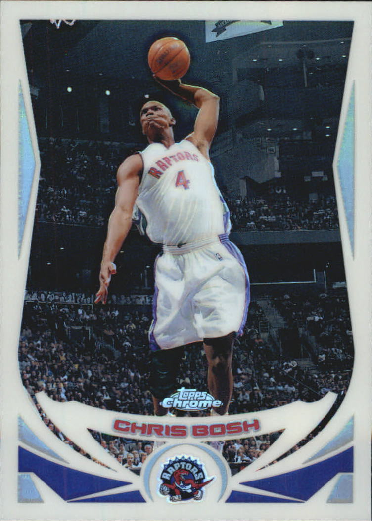 2004-05 Topps Chrome Refractors #4 Chris Bosh