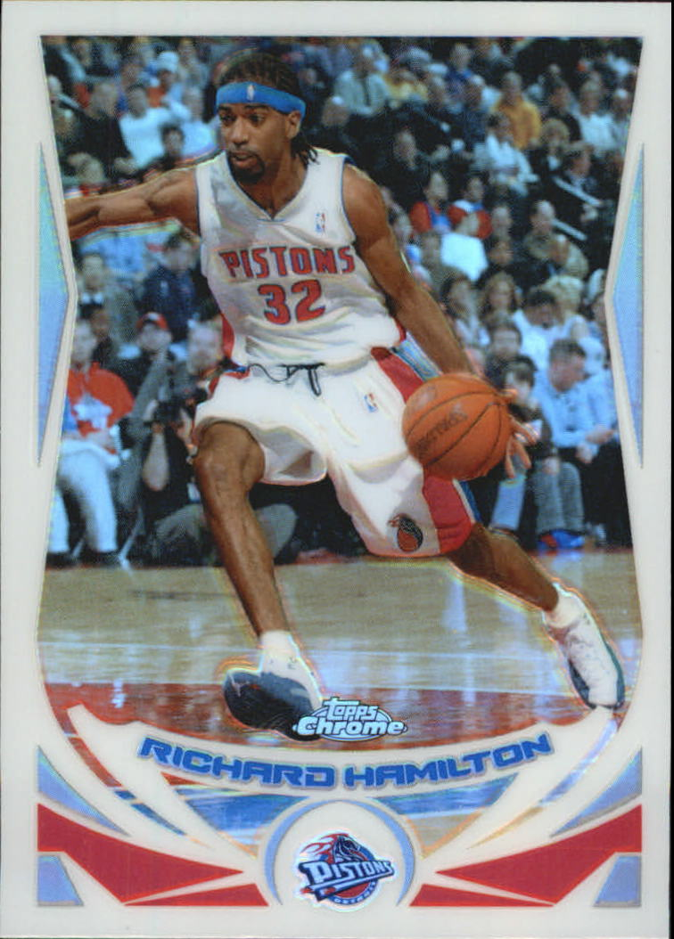 2004-05 Topps Chrome Refractors #36 Richard Hamilton