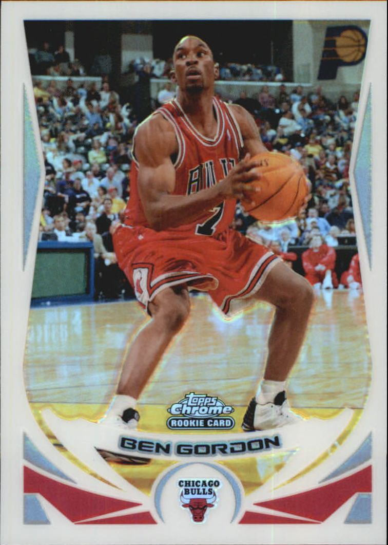 2004-05 Topps Chrome Refractors #168 Ben Gordon