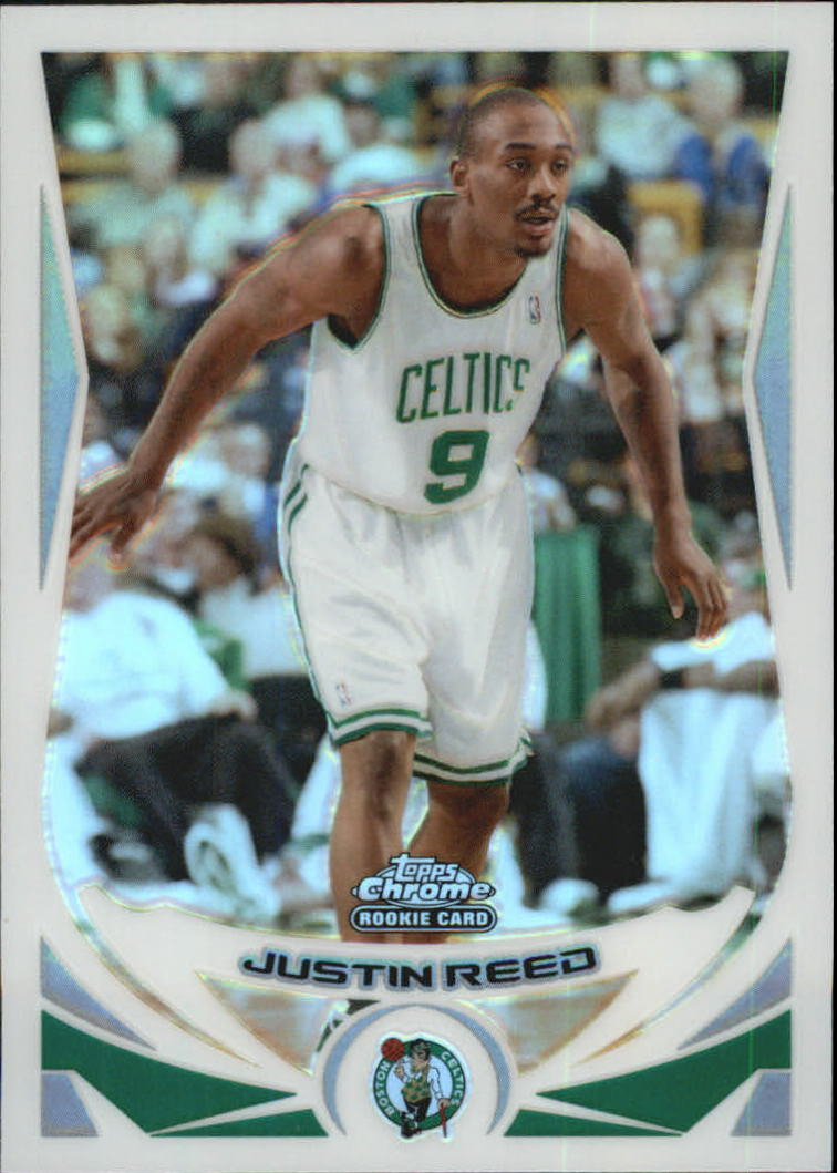 2004-05 Topps Chrome Refractors #209 Justin Reed