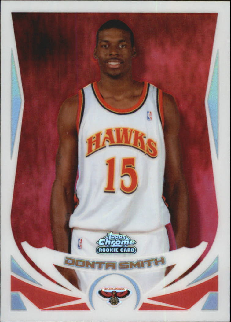 2004-05 Topps Chrome Refractors #219 Donta Smith