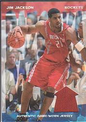 2004-05 Bazooka Back-Up #JJ Jim Jackson B