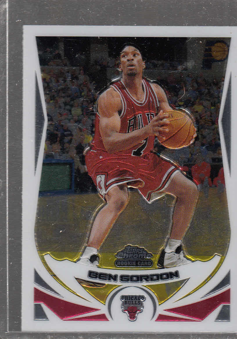 2004-05 Topps Chrome #168 Ben Gordon RC
