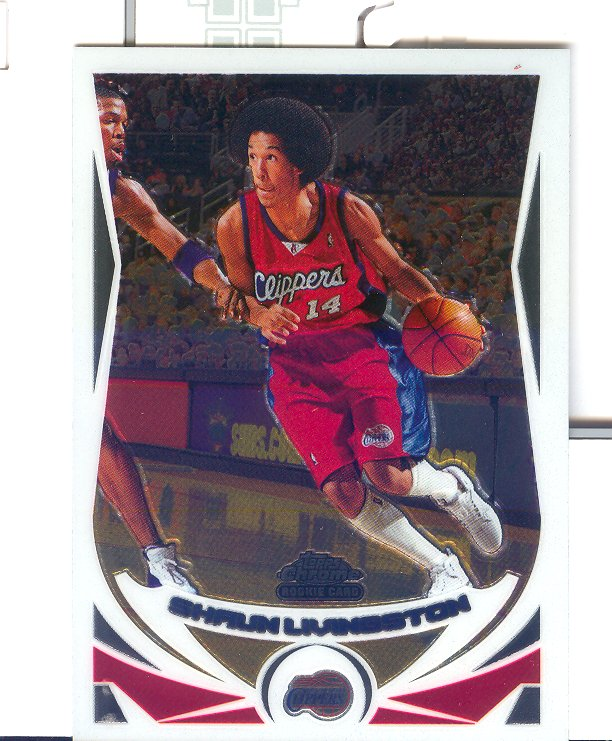 2004-05 Topps Chrome #169 Shaun Livingston RC