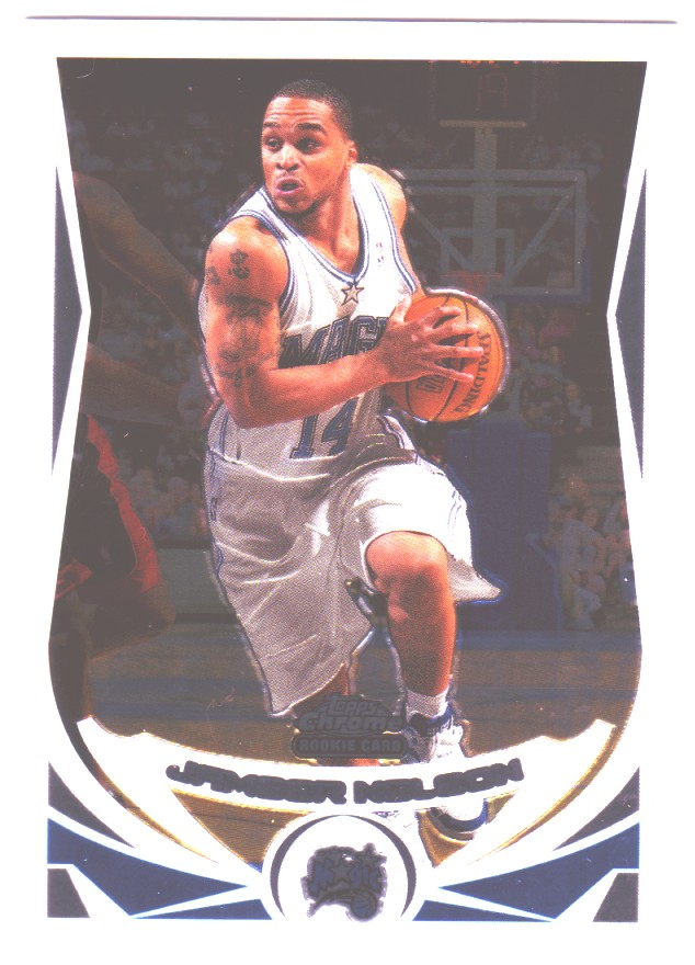 2004-05 Topps Chrome #185 Jameer Nelson RC