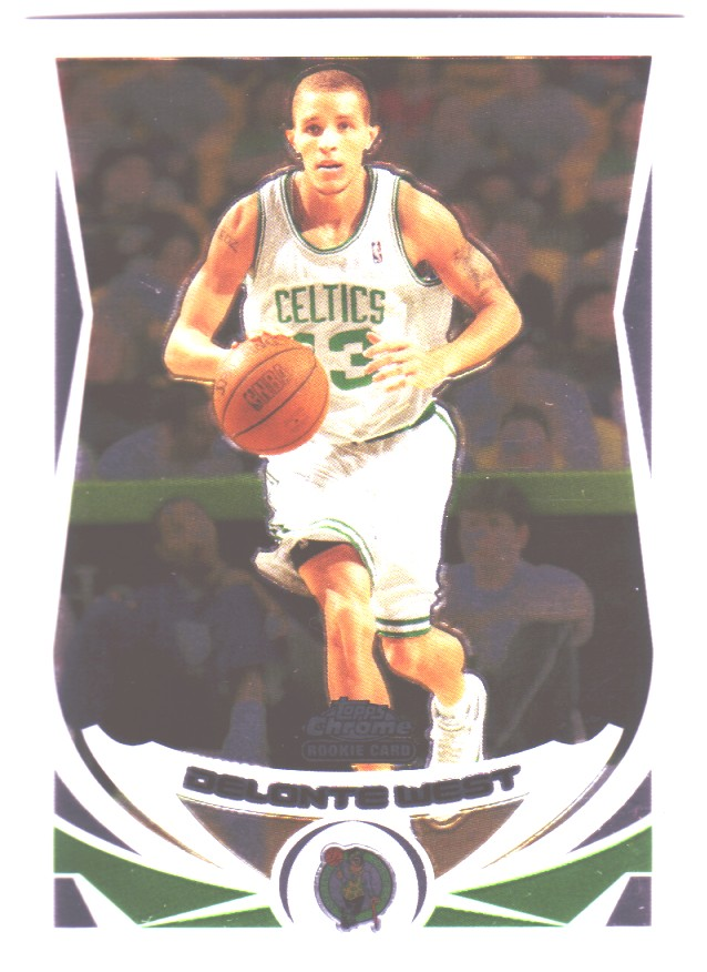 2004-05 Topps Chrome #189 Delonte West RC