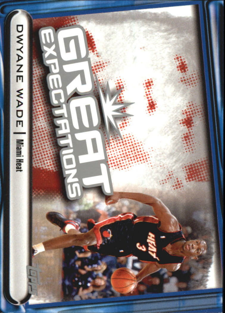 2004-05 Topps Great Expectations #DW Dwyane Wade