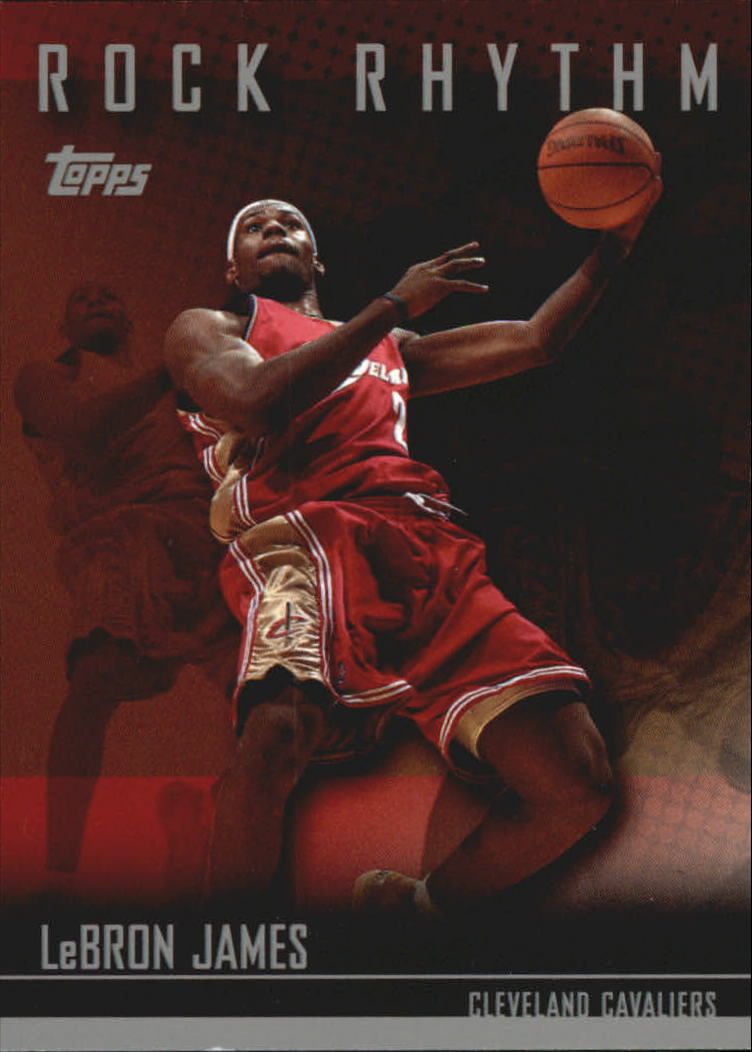 2004-05 Topps Rock Rhythm #LJ LeBron James