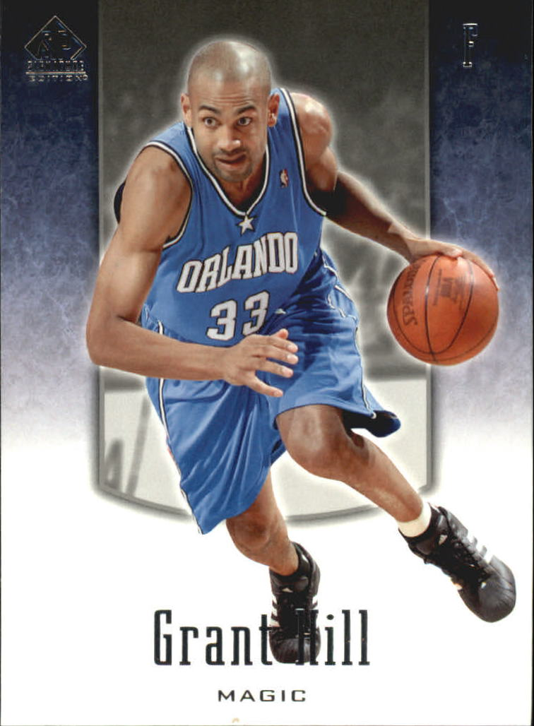 2004-05 SP Signature Edition #69 Grant Hill