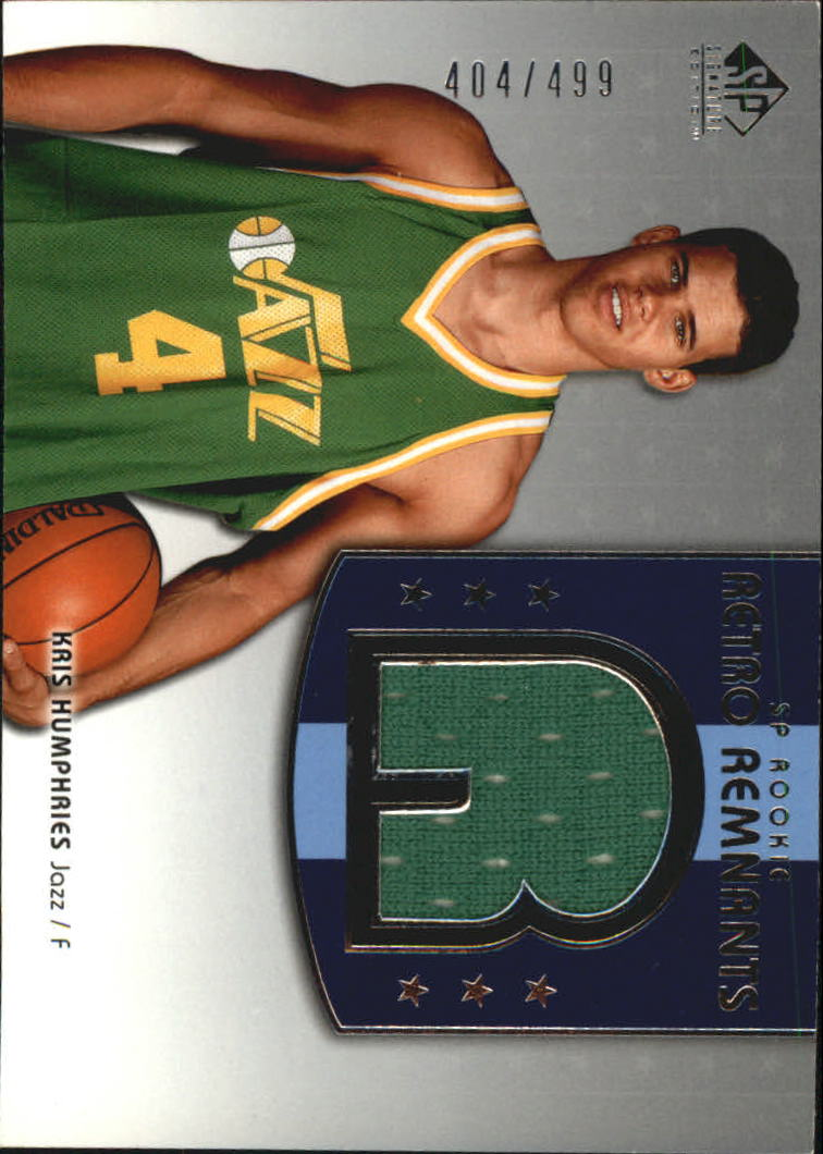 2004-05 SP Signature Edition #111 Kris Humphries JSY RC