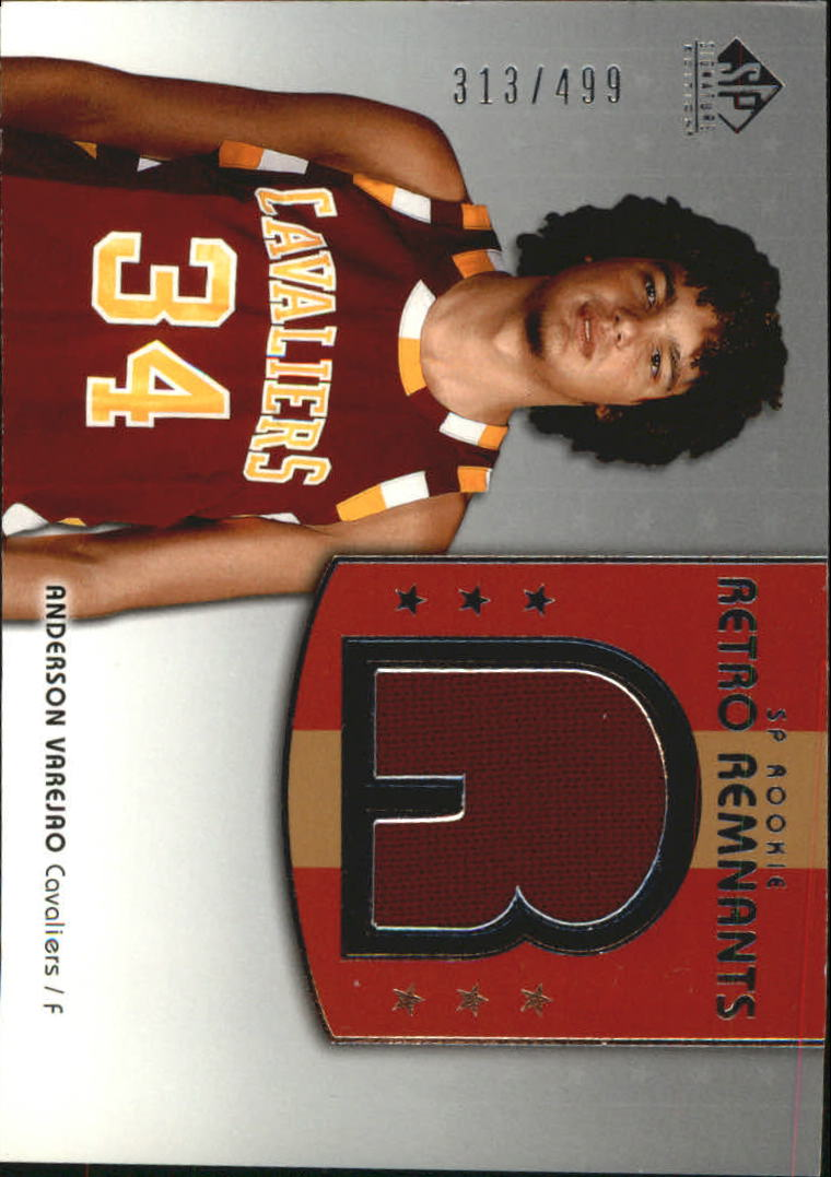2004-05 SP Signature Edition #122 Anderson Varejao JSY RC