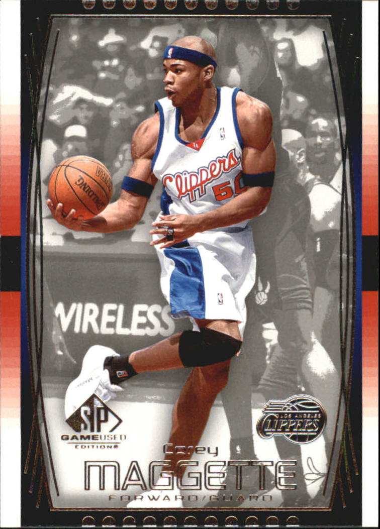 2004-05 SP Game Used #24 Corey Maggette