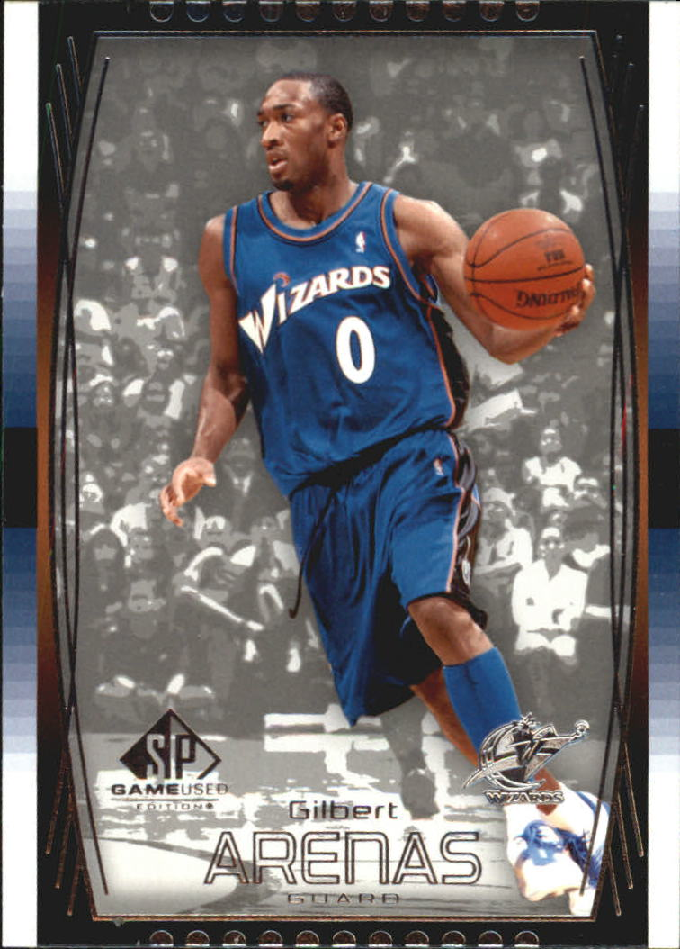 2004-05 SP Game Used #60 Gilbert Arenas