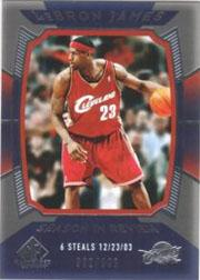 2004-05 SP Game Used #145 LeBron James SIR