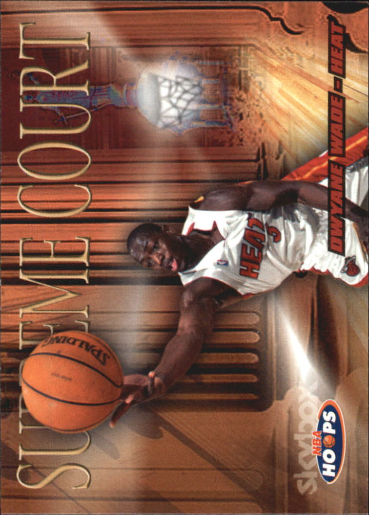 2004-05 Hoops Supreme Court #11 Dwyane Wade