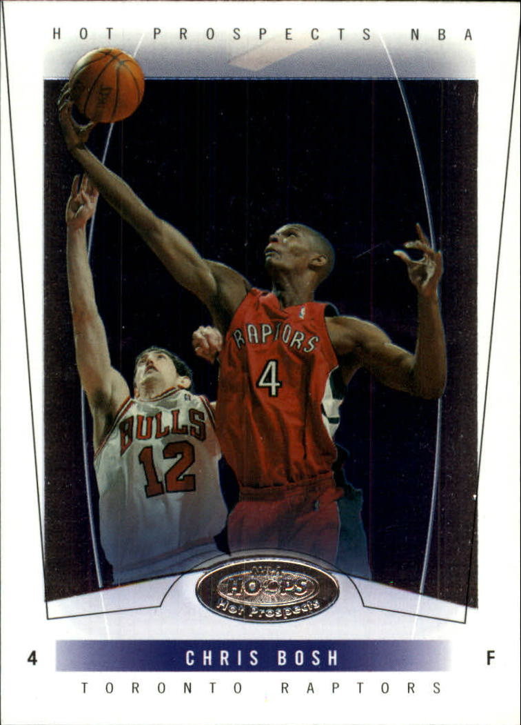 2004-05 Hoops Hot Prospects #2 Chris Bosh